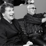 with Paul Shaffer The Roseland Ballroom Dressing Room, New York City