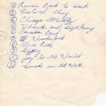 Balderdash Setlist Two