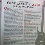 My first article with Canadian Musician Magazine (June 2013)